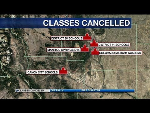 Academy District 20 schools cancel classes for students Friday