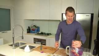 Healthy Eating With Ryan O'keefe - Gemfish With A Raw Vegetable Salad
