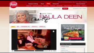 Food Network Not Renewing Paula Deen Contract