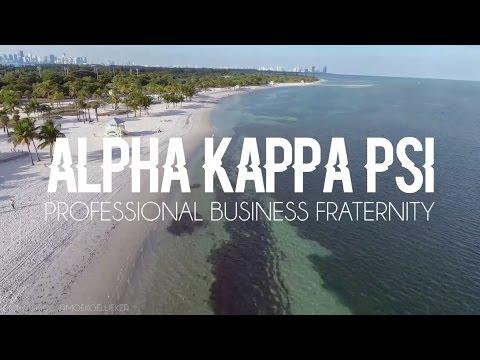 Alpha Kappa Psi Beta Pi: University of Miami AKPsi Spring Rush