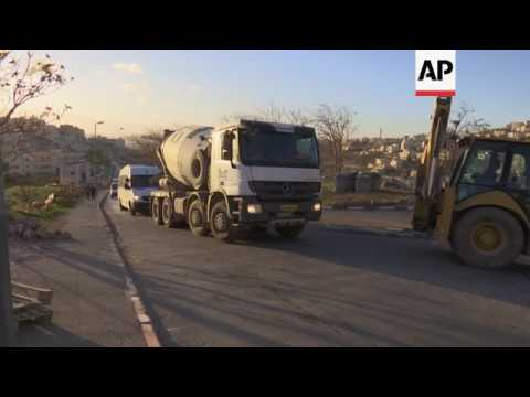 Tight security in Jerusalem in wake of truck attack