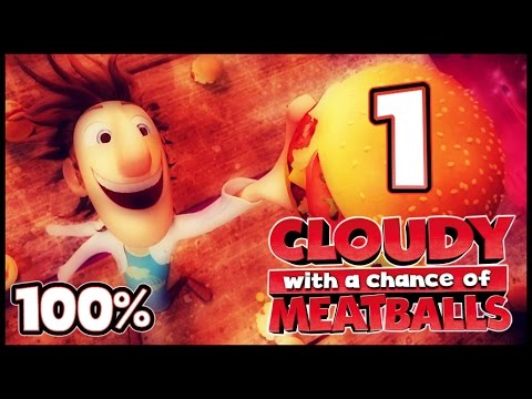 Cloudy With A Chance Of Meatballs Walkthrough Part 1 -- 100% (PS3, X360, Wii, PC) ACT 1 - 1