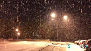 Снежная дворцовка. Верхняя Салда, 04.11.2018