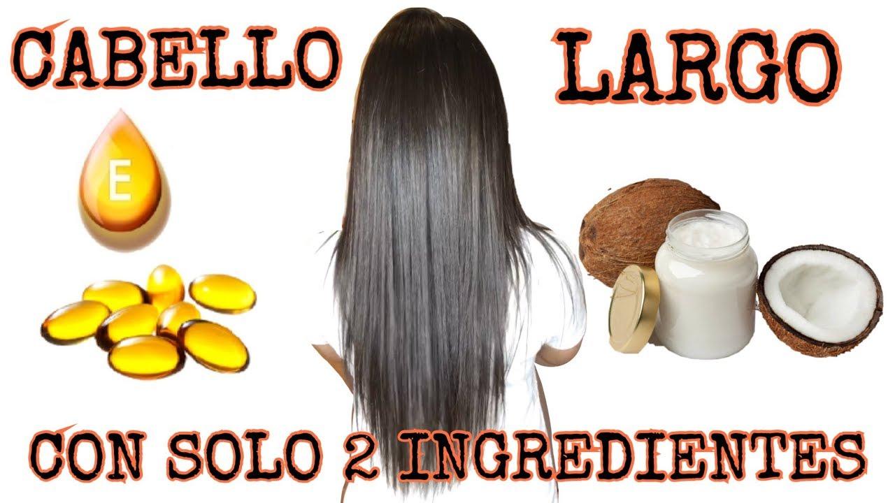 Crece tu cabello con solo 2 INGREDIENTES tratamiento