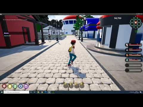Pokemon Fire Red 3D - Update 02/01/20-Unreal Engine 4