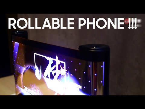 TCL WORLD'S FIRST ROLLABLE Phone LEAKED !!