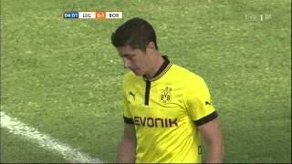 Legia Warszawa - Borussia Dortmund 0:1: gol Lewandowskiego