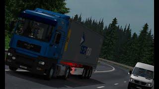 Euro Truck Simulator 2 : Поездка в Латвию 1/3