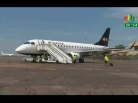 Séance de travail sur la restructuration de la compagnie nationale Air Burkina présidée par le 1er