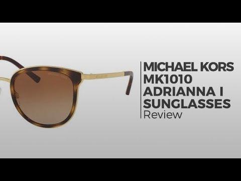 1c36e422af054 Michael Kors MK1010 ADRIANNA I Sunglasses