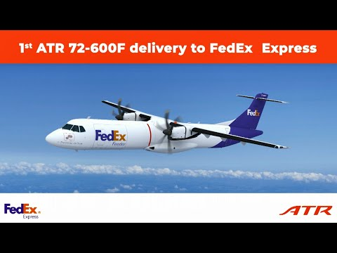 Delivering the only purpose-built regional freighter to FedEx: The ATR 72-600F