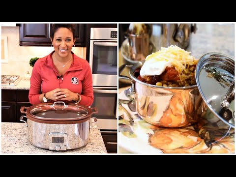 Easy Fall Crock Pot Series - Taco Soup