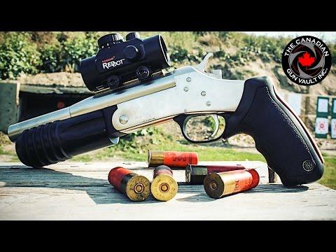 Rossi 12 Gauge Shotgun Pistol - Quick Overview