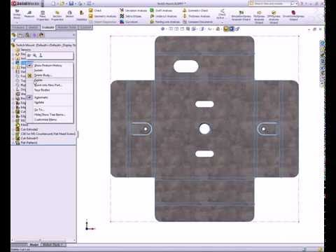 SolidWorks CAD step by step Video Tutorial & PDF Guide