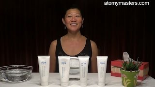 Atomy Evening Care 4 Set demonstration