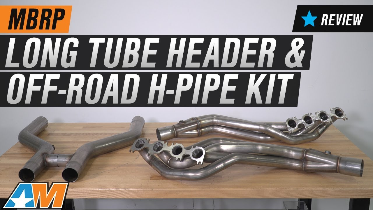 2011 2014 Mustang Gt Mbrp Long Tube Header And Off Road H Pipe Kit 2012 Ford Focus Headers 1 7 8 X 3 Review