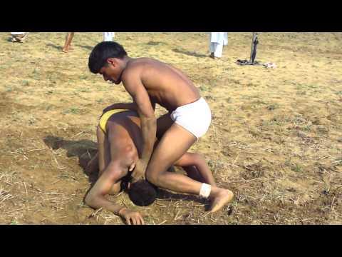 a Fast win by senior kushti wrestlers