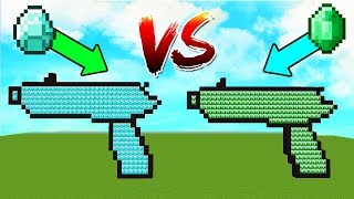 ELMAS VS ZÜMRÜT SİLAH ŞANS BLOKLARI! 😱 - Minecraft