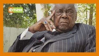 Charles Njonjo's heartwarming message to Kenyans as he turns 100 years old