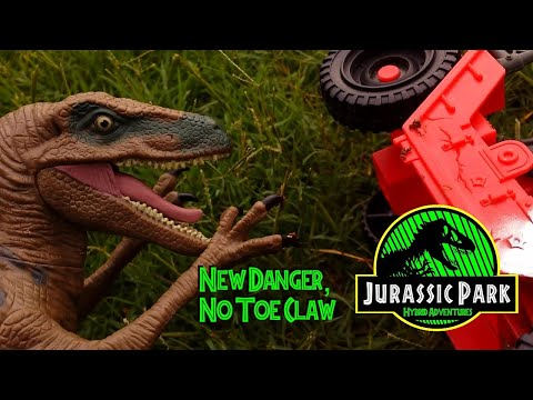 Jurassic Park: Hybrid Adventures (Toy Series) Episode 2: New Danger, No Toe Claw