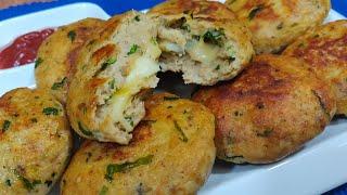 Khaoge to Jaanoge in  Chicken Cheesy Kabab ka taste | Chicken Kabab | Chicken Cheese Kabab