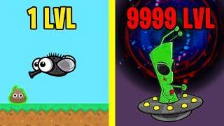 Эволюция Животных в Черной Дыре! FlyOrDie.io Новая io Игра