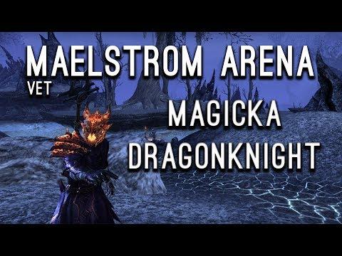 Maelstrom Arena Magicka Dragonknight - Clockwork City Elder Scrolls Online ESO