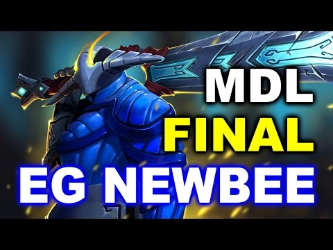 EG vs NEWBEE - MDL GRAND FINAL DOTA 2