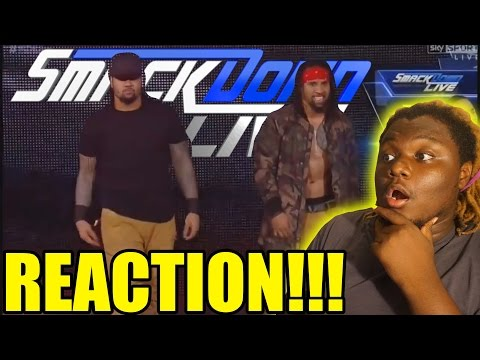 The Usos debut new theme song 2016 REACTION!!!