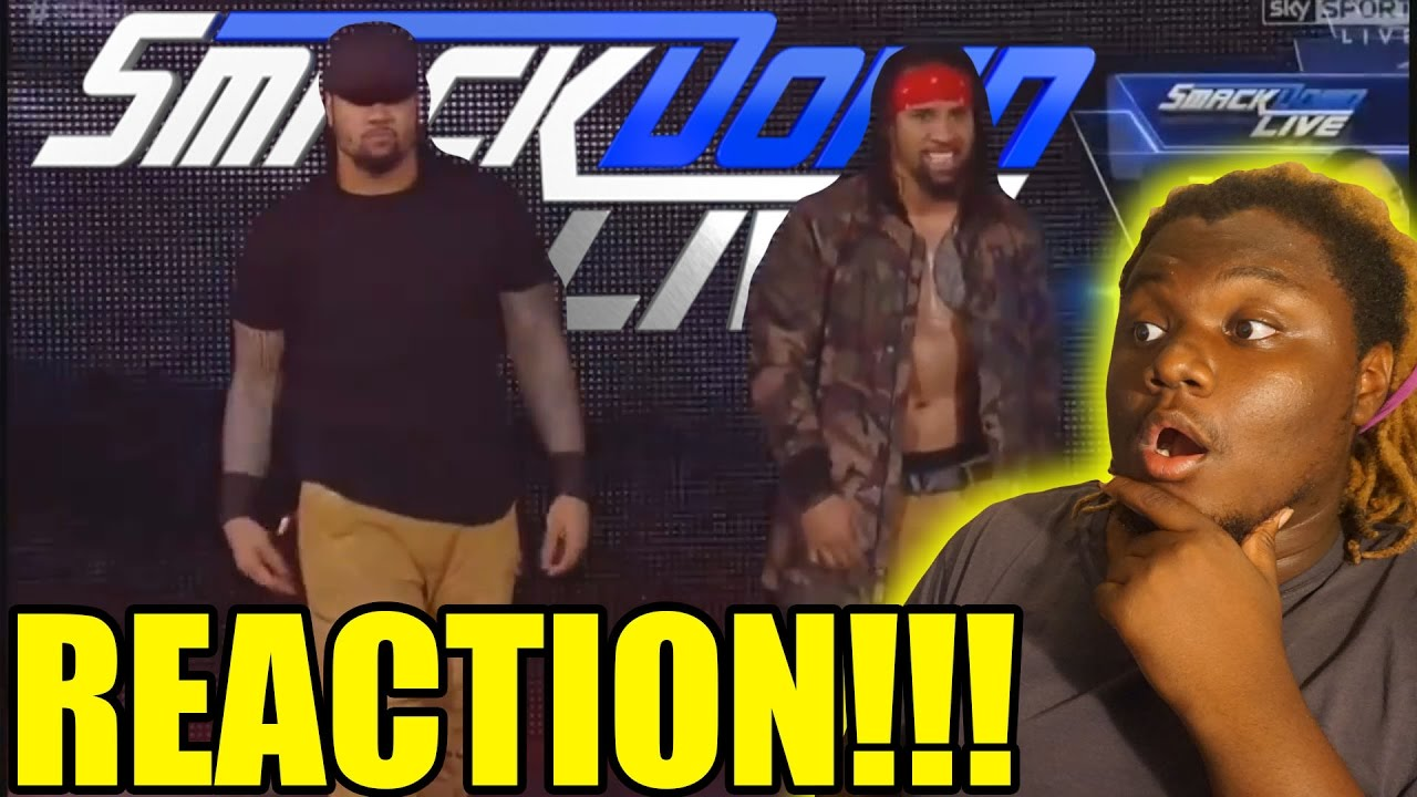 The usos debut new theme song 2016 reaction youtube - The usos theme song so close now ...