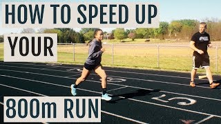 How To Get Faster at the 800m with High Cadence