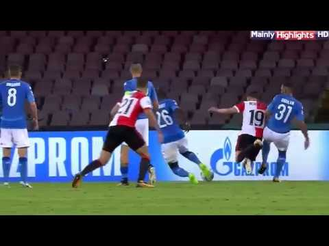Napoli vs Feyenoord 3-1  All Goals and Highlights 26.09.2017 HD