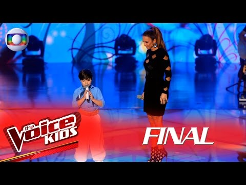Ivete canta 'Completo' com Thomas Machado no The Voice Kids Brasil - Final