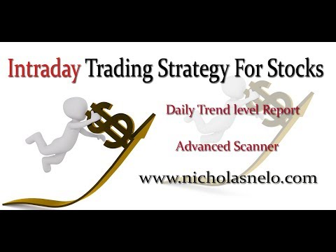 intraday trading strategy in Indian stock market :-Trend level Report & Advanced Scanner