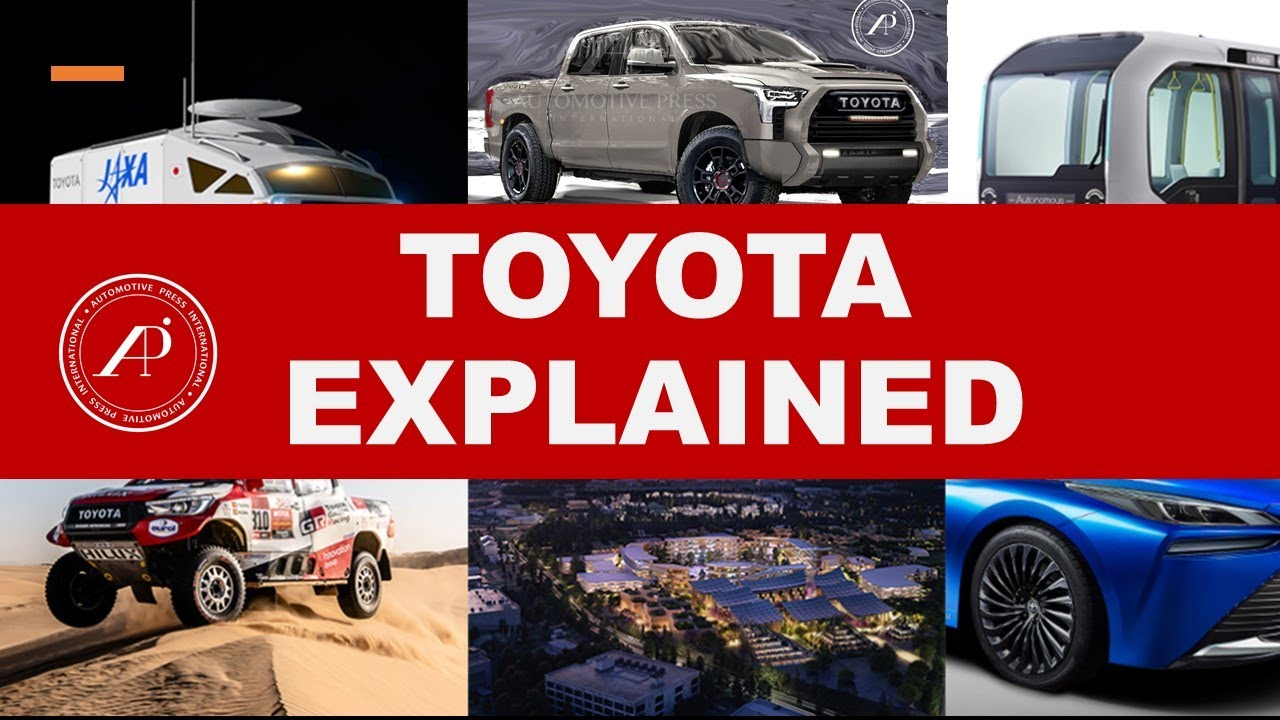 TOYOTA EXPLAINED - Automotive Engineer Reveals & Explains Toyota Backgrounds & Insights