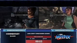 Tomb Raider Legend Race of RandomPinkBunny v SmoothOperative in 46:48