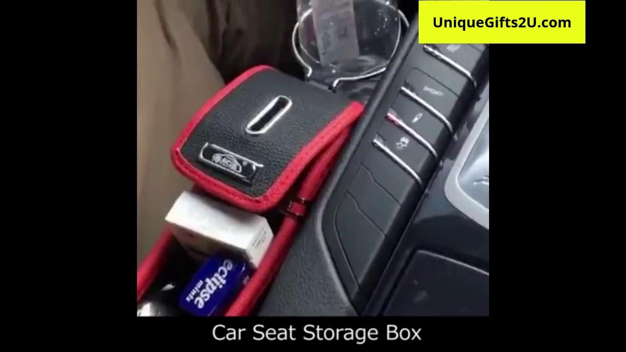 Car Seat Crevice Storage Box Organizer Drink Holder