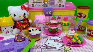 Hello Kitty Dough Pastry Shop Pies Cupcakes La Pâtisserie キャラクター練り切り ハローキティ thumbnail