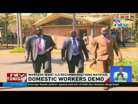 Domestic workers want ILO recommendations ratified