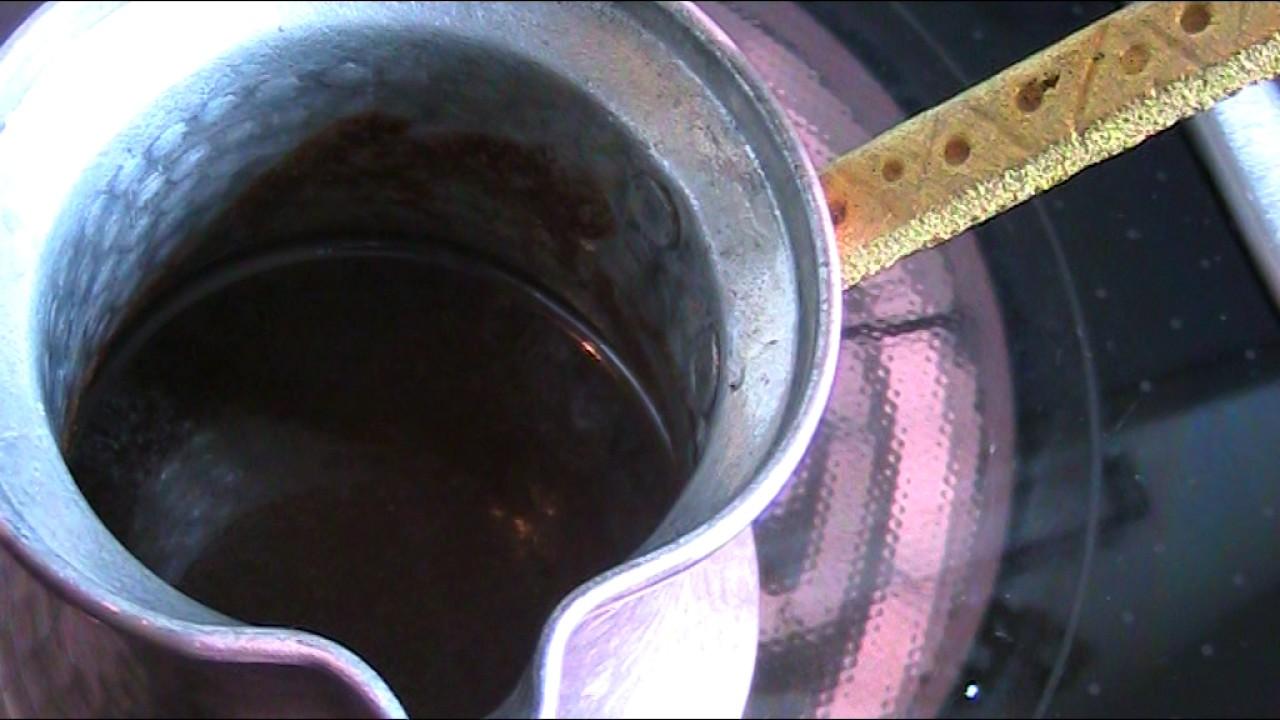 anleitung und rezept t rkischen mocca kaffee kochen youtube. Black Bedroom Furniture Sets. Home Design Ideas