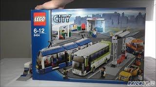 LEGO 8404 City Bus und Tramstation - Review deutsch -