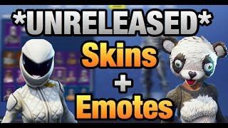 HACKER JOINS MY LIVESTREAM!!! *UNRELEASED* SKINS + EMOTES!!! Fortnite Battle Royale