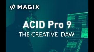 Обложка ACID Pro 9 The Complete Overview REVIEW