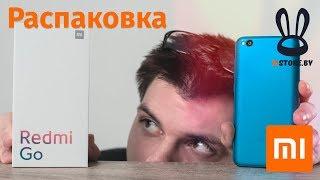 Redmi GO - Перша розпакування російською та порівняння з Redmi 6a