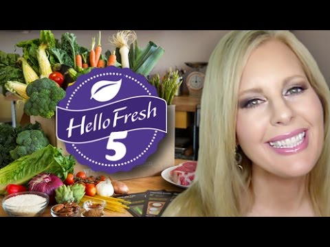 Hello Fresh 5: Unboxing, Review & Watch Me Cook It!
