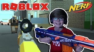 NERF BATTLE!!! Roblox Nerf FPS 2017