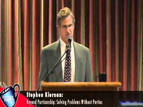"""Stephen Kiernan: """"Beyond Partisanship"""" @ Coffee Party Convention"""