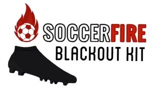 Soccerfire.com new dye blackout kit test/review for soccer/football cleats