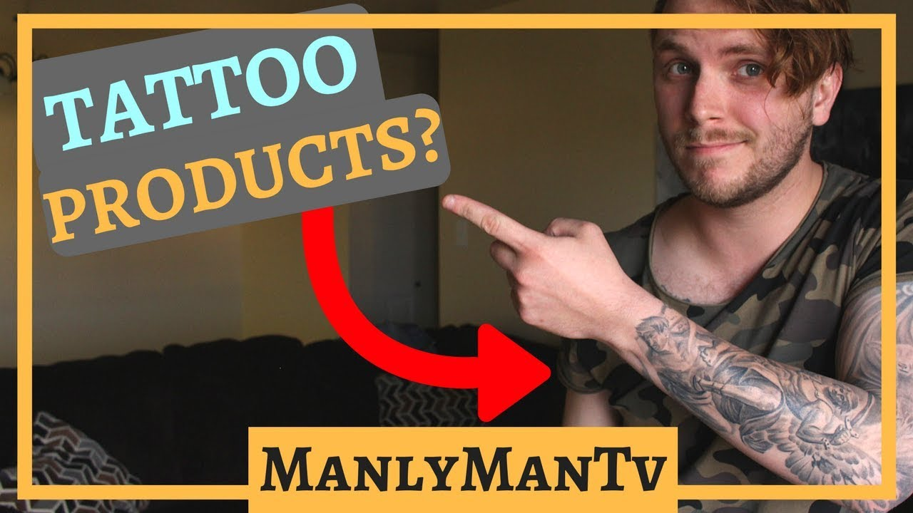 Best Tattoo Care Products - YouTube