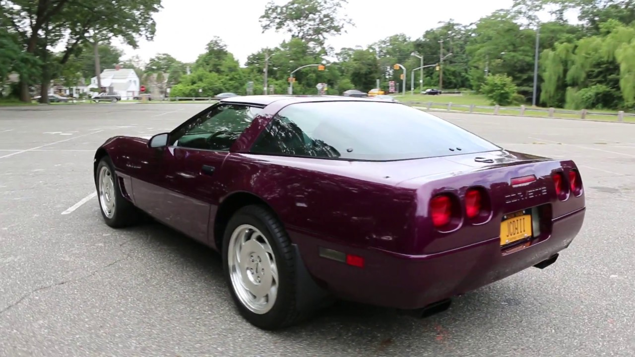 1995 Corvette For Sale >> 1995 Corvette Coupe For Sale - YouTube